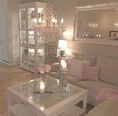 Mein Wohnzimmer - New Ideas room My living room My living room - room Glam Living Room, Living Room Decor Cozy, Elegant Living Room, Interior Design Living Room, Home And Living, Living Room Designs, Bedroom Decor, Decor Room, Casas Shabby Chic