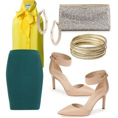 Green and Yellow