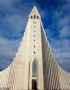 Hallgrimur dominates the Reykjavik skyline.