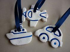 Party craft idea - kids can make them out of salt dough...