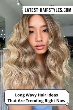 You'll be the envy of everyone you know with gorgeous long wavy hair! We're showing off drop-dead beautiful wavy hairstyles for long hair. Click on the link right now. (Photo credit IG @@carissaroberthair) Wavy Hairstyles, Latest Hairstyles, Drop Dead Beautiful, Long Wavy Hair, Photo Credit, Makeup Tips, Envy, Beauty Hacks, Long Hair Styles