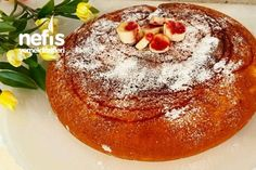 How to make Cotton Cotton Cake (Awesome! In the book of people . Pudding Desserts, Pudding Cake, Muffin Recipes, Dog Food Recipes, Turkish Recipes, Ethnic Recipes, Cotton Cake, Turkish Sweets, Chocolate Cake