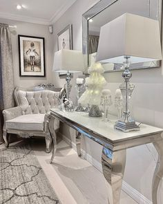 decor for 8 year old boy decor girly decor accessories bedroom decor bedroom decor decor pink and grey decor sets decor on sale Glam Living Room, Living Room Decor Cozy, Elegant Living Room, Elegant Home Decor, Elegant Homes, Home And Living, Bedroom Decor, Wall Decor, Home Decor Furniture