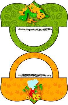 Cierra bolsas con Dinosaurios para cumpleaños