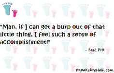 Baby Care Tips, Brad Pitt, I Can, Milk, Parenting, Babies, Feelings, Babys, Childcare