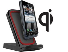 Vertical Qi Wireless Charging Stand – Works in Landscape or Portait