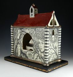 Pam Stern: Reliquary of the untaken Voyage.  This is an outstanding use of imagery to tell a story