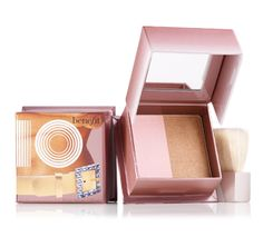 I love this blush/bronze duo!