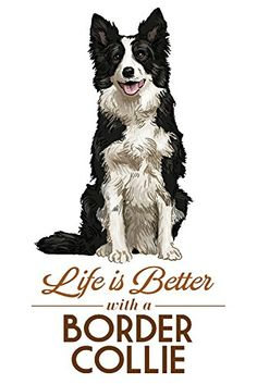 Border Collie - Life is Better - White Background (24x36 ... https://www.amazon.com/dp/B07B2CT8JQ/ref=cm_sw_r_pi_dp_U_x_nrgMAbXGX2CJ6