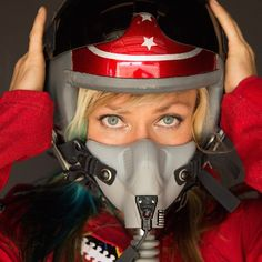 Fabricator, racer, and automotive-industry personality Jessi Combs was killed Tuesday afternoon while attempting a land-speed record in the Alvord Desert in sou Jessi Combs, Female Pilot, Kustom Kulture, Car And Driver, Popular Memes, Jessie, Role Models, Amazing Women, Race Cars