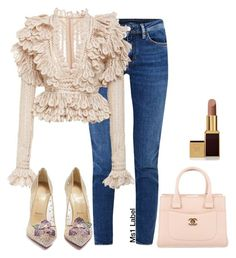 """Classy casual"" by ms1-ltu on Polyvore featuring Acne Studios, Christian Louboutin, Chanel and Tom Ford"