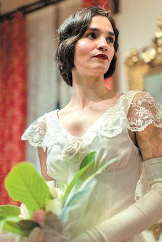 Mikra Agglia Girls Dresses, Flower Girl Dresses, Movie Costumes, Films, Movies, Greek, Cinema, Wedding Dresses, Fashion