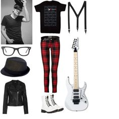 """""""Patrick Stump Inspired Outfit"""" by assassinwolfie on Polyvore, this is my outfit I created inspired by Patrick's VS fashion show outfit"""