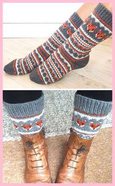 Gratis breipatroon voor Fox Isle Sokken - Gestrande sokken met fair eiland vos fac ... ,  #breipatroon #eiland #gestrande #gratis #sokken