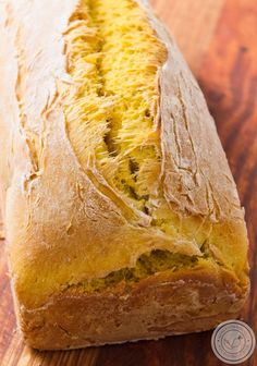 Pão de Abóbora caseiro bem fofinho e saboroso