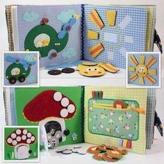 Children's Quiet Book Busy Book Eco friendly Toddler door MiniMoms