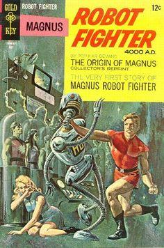 Magnus, Robot Fighter #22