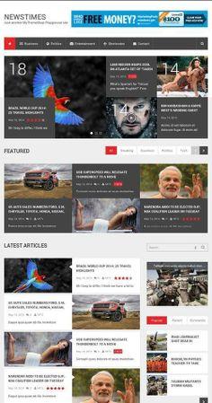 NewsTimes Theme Review - MyThemeShop