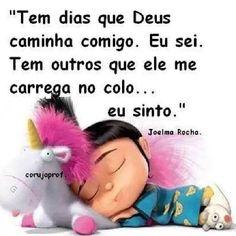 Deus sempre comigo!