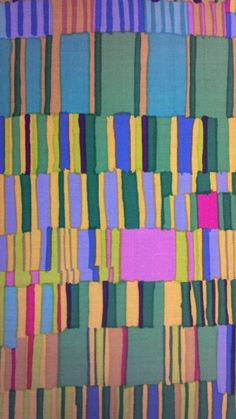 Kaffe Fassett cotton print at Olde Time Fabric Shop, Knoxville, Tennessee