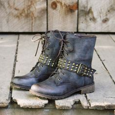 The Scout Motorcycle Boots from #spool72