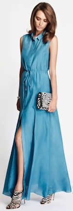 LK Bennett Kerrie Maxi Shirt Dress