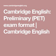 Free Cambridge English: Preliminary (PET) exam preparation including sample papers, online practice tests and tips for your exam day. Cambridge Test, Cambridge English, Apply For College, Exam Day, English Exam, Sample Paper, Ielts, How To Apply, Learning