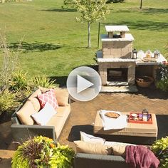 Outdoors is the best place to entertain! Find our easy ways to make your space shine: http://www.bhg.com/videos/m/84011444/tips-for-outdoor-living-spaces.htm?socsrc=bhgpin080914outdoorlivingspaces