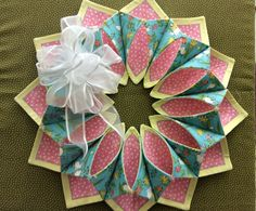Fold N Stitch Wreaths
