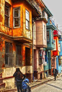 Balat houses | Balat - Istanbul