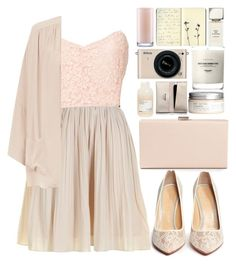 """""""#293"""" by madam-kate ❤ liked on Polyvore featuring Darling, Charlotte Olympia, NLY Trend, Dsquared2, H&M, Davines, Nikon, Baxter of California, Kate Spade and Moleskine"""