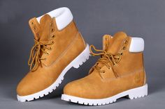 TIMBERLAND STUSSY MEN'S 6 INCH ZIP WHEAT WHITE
