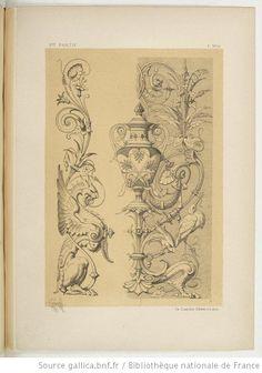 Specimens de la décoration et de l'ornementation au XIXe siècle / par Liénard - 122