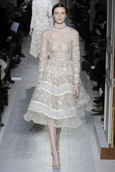 Spring '13 Couture Trend: Lace Is More (Valentino Spring Couture 2013)