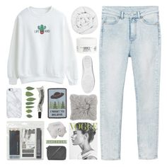 """""""for @samiikins contest/top set!"""" by dr0ps-of-jup1ter ❤ liked on Polyvore featuring Monki, yeswalker, Kiehl's, The Fine Bedding Company, Royal & Langnickel, Topshop, Maison Margiela, Uncommon, Aesop and women's clothing"""
