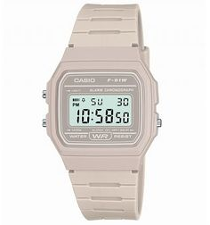 6aae13f00fe Classic Light Grey Watch F-91WC-8AEF from Casio Relojes Bonitos
