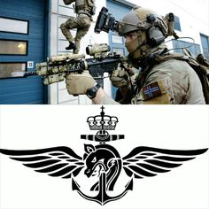 Marinejegerkommandoen (MJK) is a Norwegian maritime special forces unit formally established in 1951. It is divided into two operative units, one of which is located in Ramsund and the other at the Haakonsvern Navy base in Bergen. Training to become a MJK operative takes two years augmented by courses taken during the following four-year contract period, such as field medical training and sniper training and forward air control (FAC) training.
