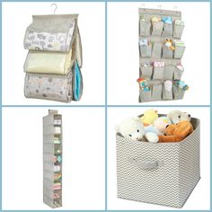 Need to organize your baby's room? Look no further than our Chevron Storage!