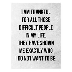 Difficult People Quote Postcard