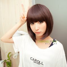 girls short haircut with bangs - Google Search