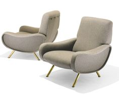 Lady Chair 1951 | Marco Zanuso | Manufactured by Arflex  Source: media.liveauctiongroup.net