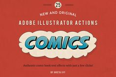 Check out Vintage Comic Press - AI Actions by Greta Ivy on Creative Market