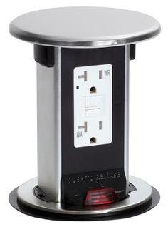 15 best kitchen pop up power outlets images | pop up