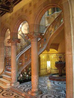 Casa Asia (Barcelona). Designed by Puig i Cadafalch early 1900.