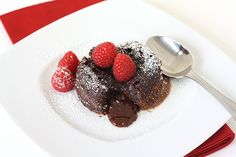 Molten Chocolate Cakes for Two