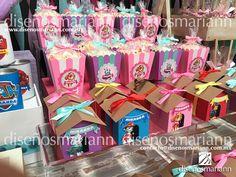 Mesa de dulces Paw Patrol Skye & Everest/Mesa de dulces Paw Patrol niña