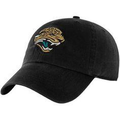 Jacksonville Jaguars Historic Logo Black Classic Franchise Fitted Hat