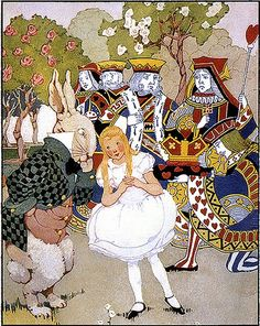 Alice's Illustrated Adventures In Wonderland: Chapter 8 ~ The Queen's Croquet Ground