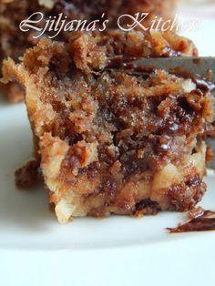 FANTASTIČNI SOČNI KOLAČ S JABUKAMA Cookie Recipes, Dessert Recipes, Desserts, Torta Recipe, Torte Recepti, Basil Recipes, Stir Fry Recipes, Special Recipes, Homemade Cakes