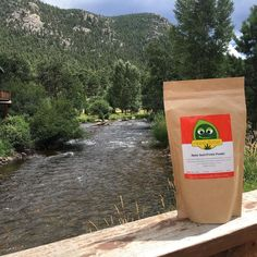 Hippie Butter in Estes Park #hempseeds #colorado #hippielife #fitfam #bears #mountainstream #hummingbirds #groovy #hippiebutterhempseeds #hempseedproteinpowder #yummy